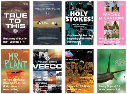Skateboad, Surf und Snowboard-Filme aus dem Volcom Video Archiv frei gucken | Gegen Langeweile