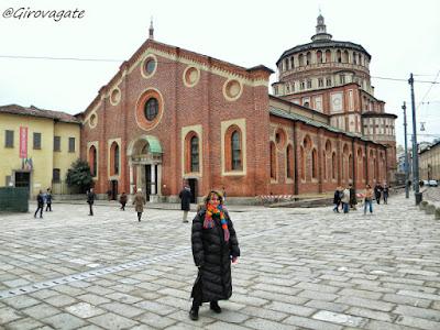 Milano chiesa santa maria grazie