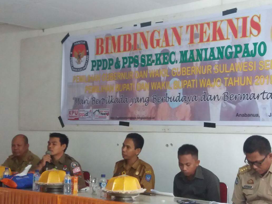PPK Maniangpajo Laksanakan BIMTEK PPDP