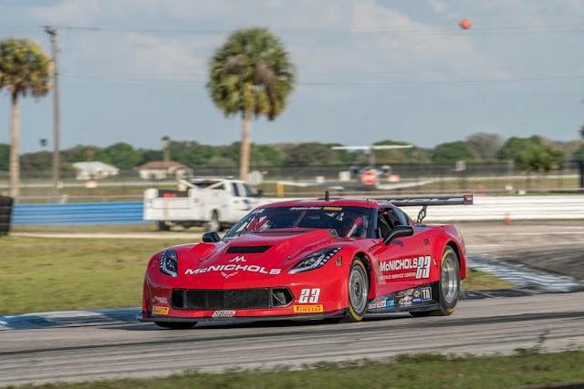 Ruman Finishes 6th at Trans Am Sebring Season Opener