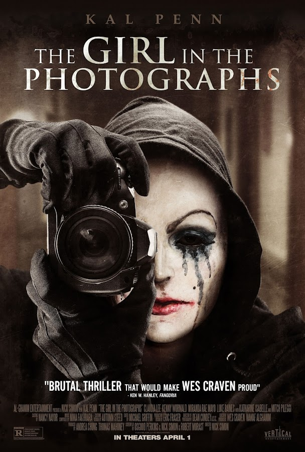 Veja o novo poster do último filme de Wes Craven, The Girl In The Photographs