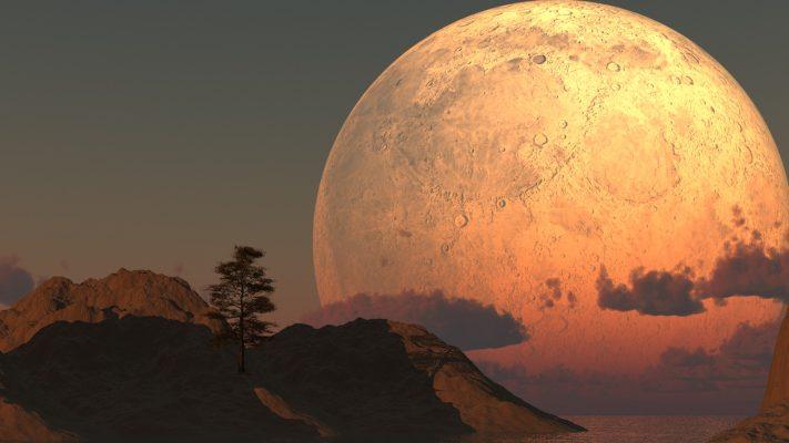 لأول مرة.. حدثان فلكيان متزامنان للقمر يمكنك رؤيتهما بعد أيام!