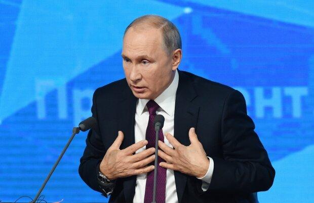 Путін затіяв сварку з українським кореспондентом