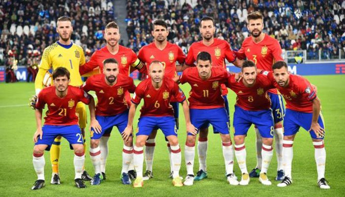 Information about Spain team 2018