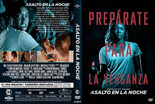 Breaking In - Asalto en la Noche - Cover DVD