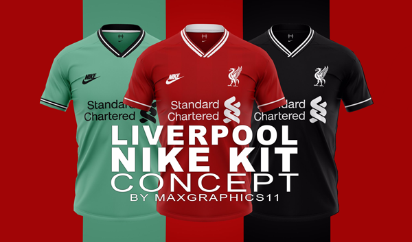 Vacilar Colaborar con engañar  Liverpool FC 2019/2020 Nike Kit Concept - Dream League Soccer - Kuchalana