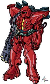 AZY-001-1 Heavy Armor Y