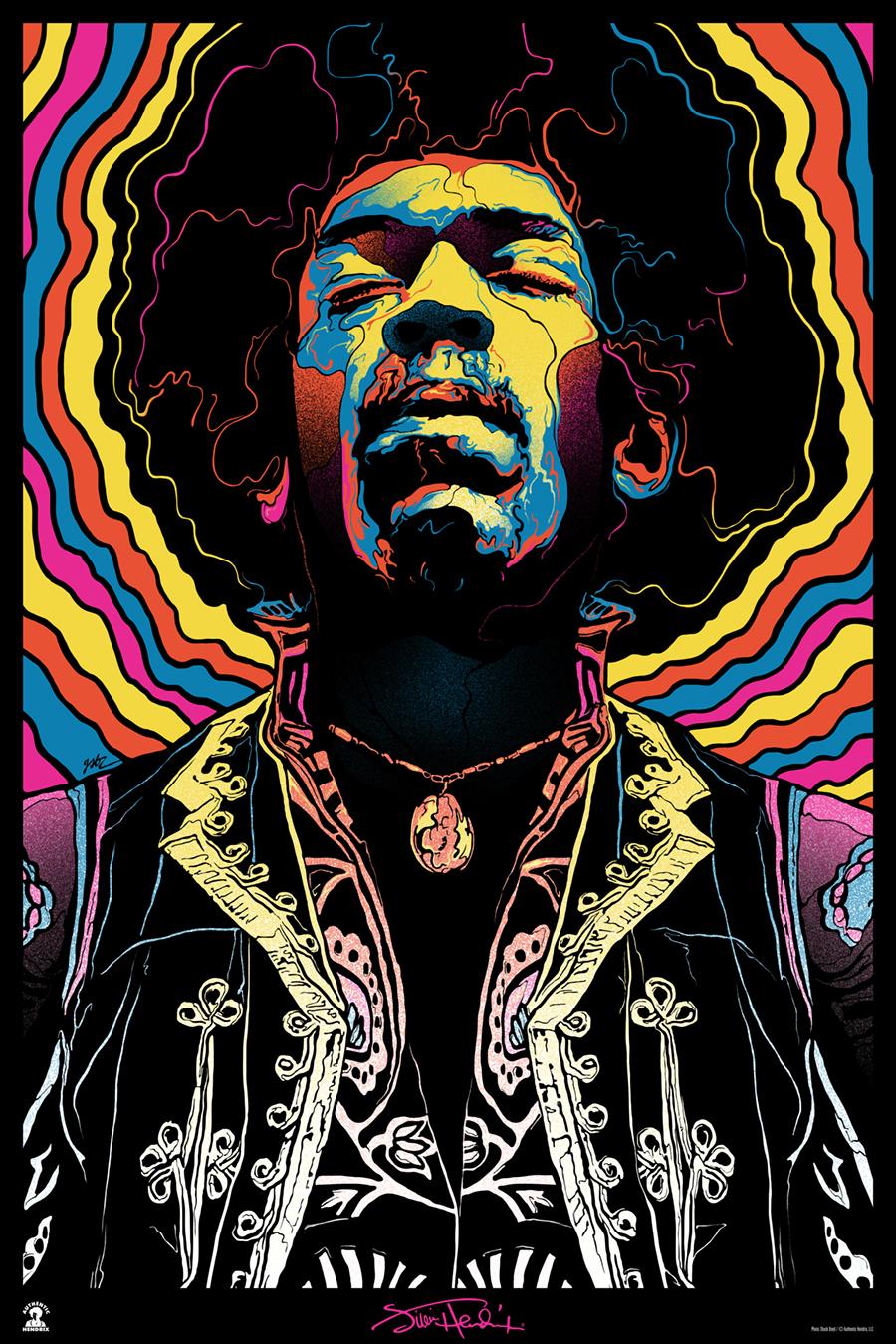 Gabz Jimi Hendrix Voodoo Child Poster Variant 2015