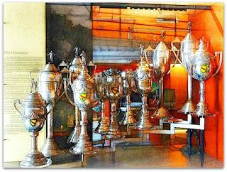 Troféus no Museu do Inter (Museu Engenheiro Ruy Tedesco)