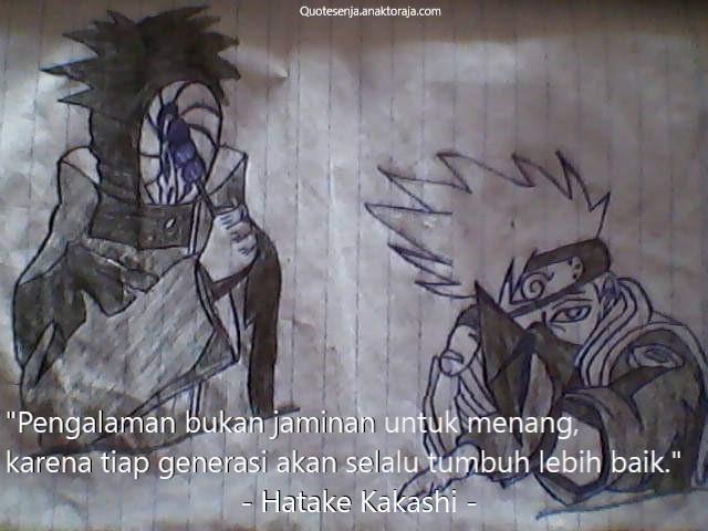 Gambar kata-kata mutiara Naruto tentang mimpi