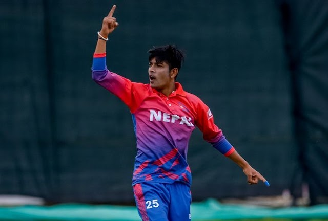 Sandeep Lamichhane hunting for becoming the fastest 50 Wicket taker in ODI history.