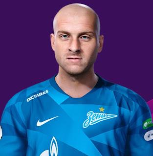 PES 2021 Faces Yaroslav Rakitskiy by Korneev