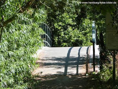Kleine Brücke über die Bille