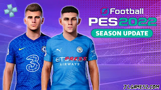 SAIU PES 2022 PPSSPP ANDROID 2021
