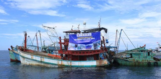 16 Kapal Dimusnahkan Di Mempawah