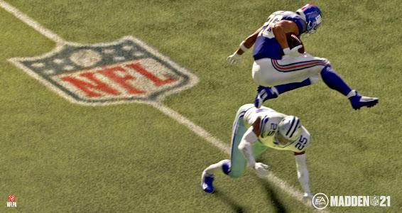 Madden NFL 21 other football scene