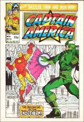 Captain America #34, Iron Man