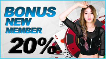 Bonus New Member 20%