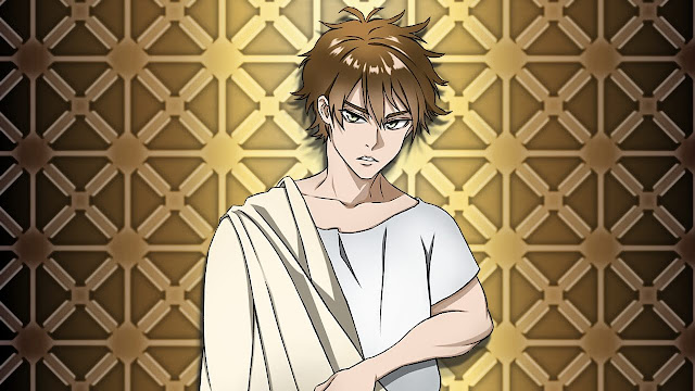 Man in old clothes (free anime images)