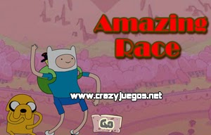 Jugar Adventure Time Amazing Race