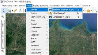 Pilih Jenis Maps Yang Sobat Inginkan