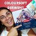 LÁPIS DE COR COLOURSOFT DERWENT - RESENHA (COLORED COLOURSOFT DERWENT PENCILS - REVIEW)
