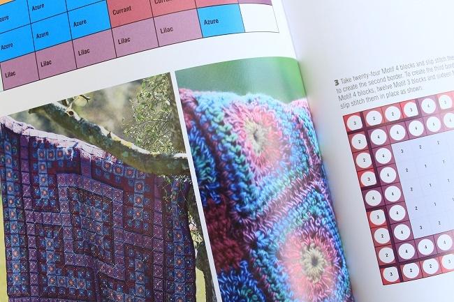 lazy daisy Jones blog book review rainbow crochet blankets