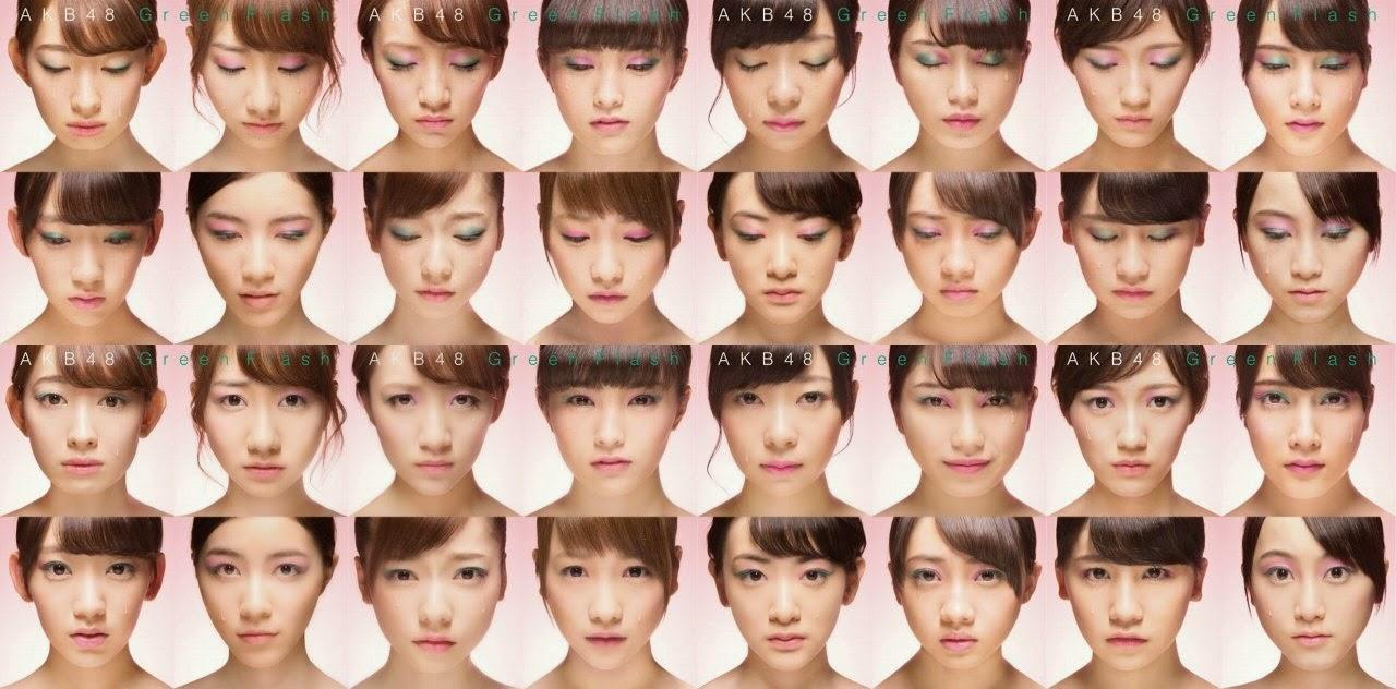 Lirik Dan Terjemahan Lagu AKB48  Green Flash