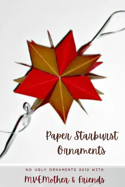Christmas Ornament Paper Starburst