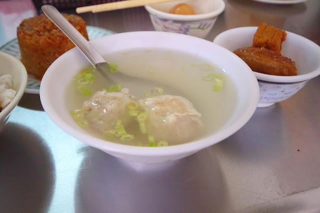 台南善化中興路 無名筒仔米糕、肉燥飯