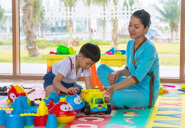 Khu vui chơi cho bé trong nhà FLC Quy Nhơn