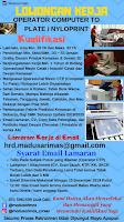 Open Recruitment at PT. Sebastian Citra Indonesia Terbaru Desember 2019