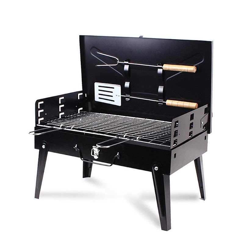 AMAZON - 40%off Portable BBQ Charcoal Grill Set  Till July 31st