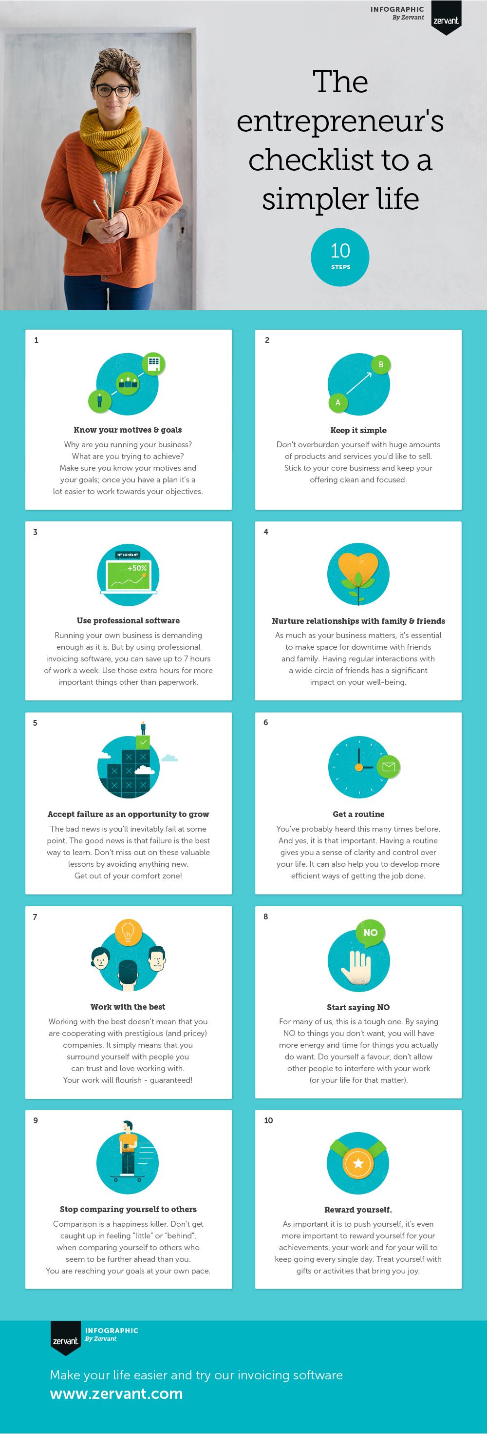 Entrepreneurs Checklist To A Simpler Life