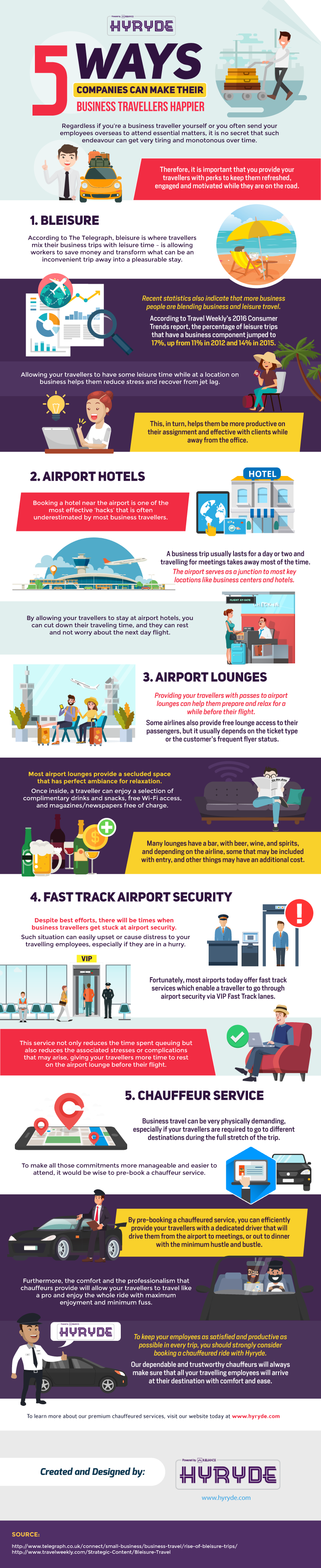5 Ways Companies Can Make Their Business Travellers Happier #infographic #Business #Travel #infographics #Companies #Infographic