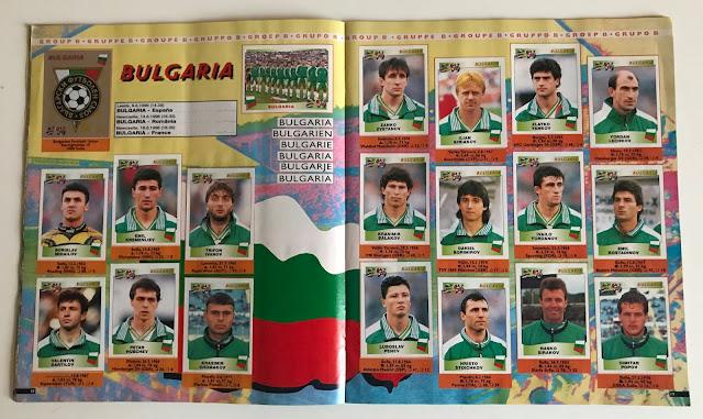 Figurine Bulgaria Euro 96