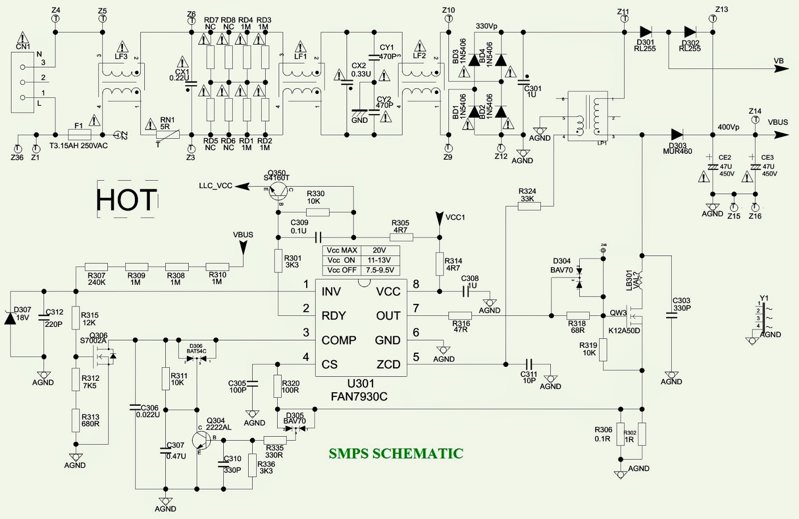 philips led circuit diagram