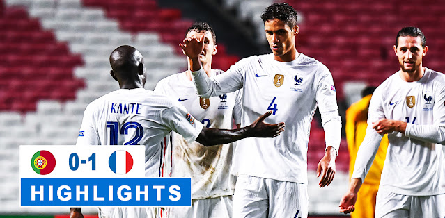 Portugal vs France – Highlights