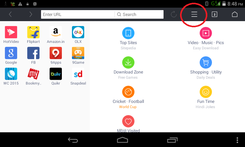 How To Change Default File Download Path in UC Browser