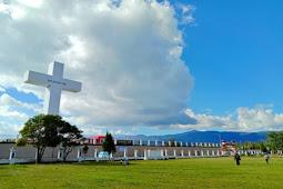 Jhon Banua Pastikan Pembangunan Menara Salib dan GOR Wamena Tuntas Desember 2020