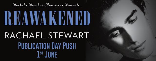 Reawakened by Rachael Stewart blog tour banner