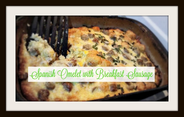 Spanish Omelette with Breakfast Sausage Casserole recipe