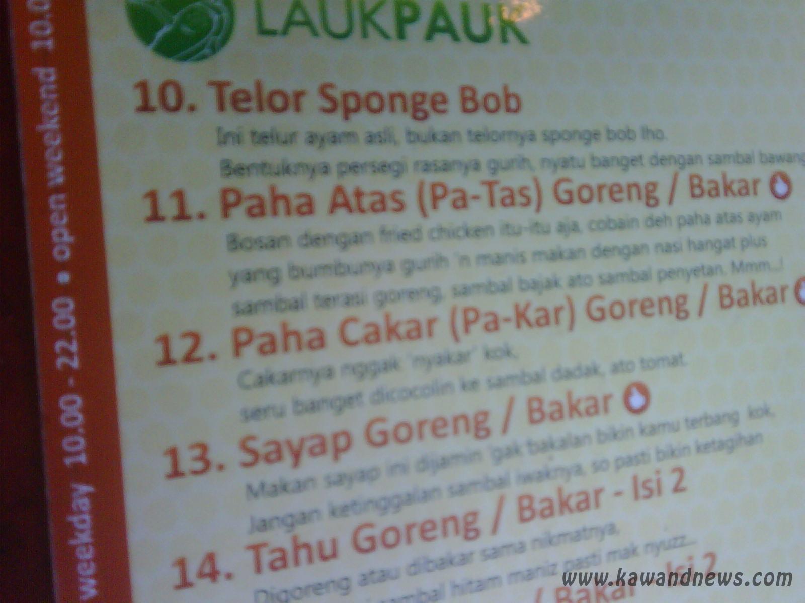 Telah Ditemukan Menu Makanan Aneh Dan Lucu Telur Spongebob