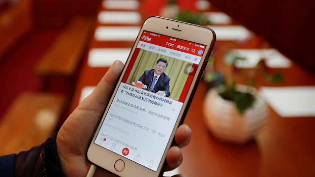 Cuma Lewat Aplikasi, China Memata-matai Ratusan Juta Warganya