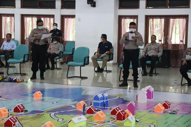 Cegah Pandemi Covid-19, Polresta Tangerang Gelar TFG Sispam Kota