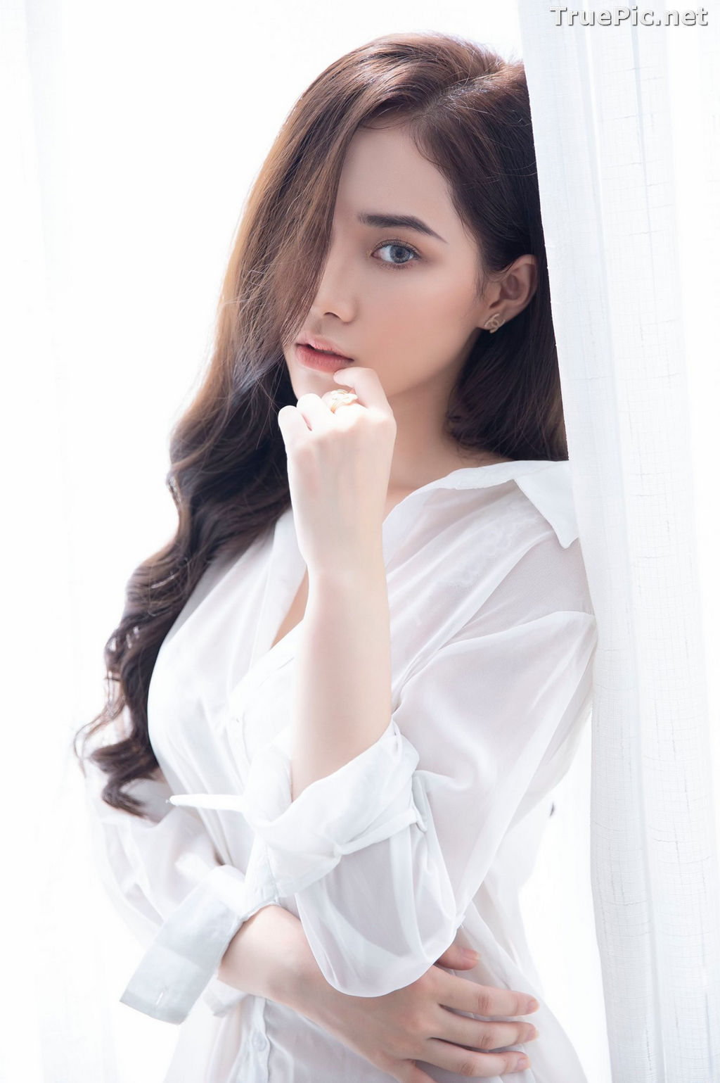 Image Vietnamese Model - Hot Beautiful Girls In White Collection - TruePic.net - Picture-10
