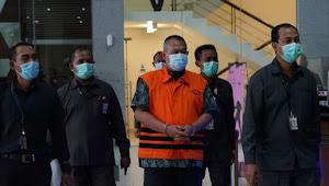 Terkait kasus pengadaan tanah di Munjul, kembali dilakuan penahanan tersangka Direktur PT AP