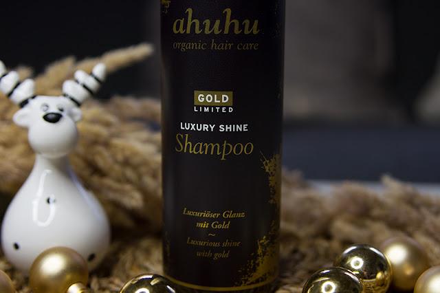 ahuhu - Gold limited Luxury Shine Shampoo