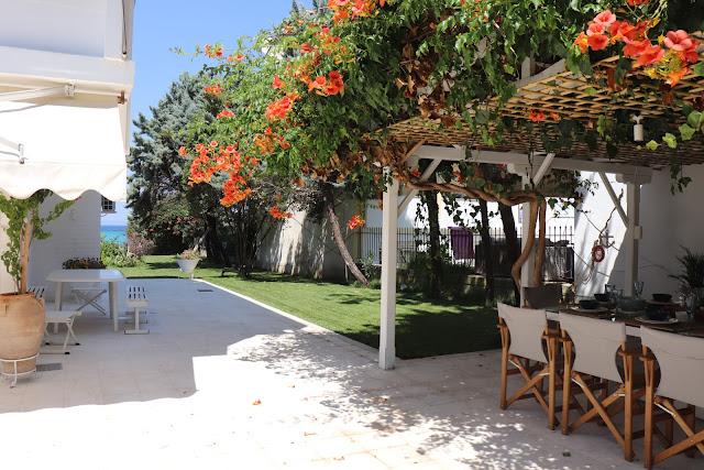 beach villa Greece