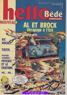 Hello-Bébé, numéro 28, 1991, Al et Brock: Dérapge à l'est